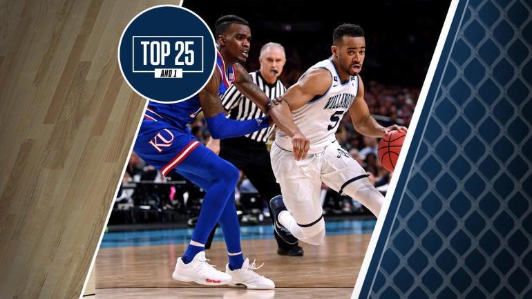 College basketball rankings: No. 1 Kansas faces NCAA Tournament champion Villanova in Final Four rematch ...