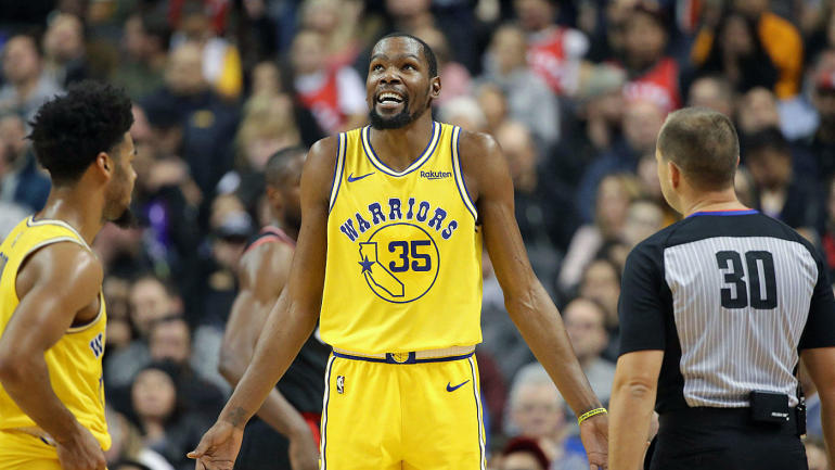 5fa96a11ad58 Warriors  Kevin Durant reveals top five NBA players of all time  puts  Michael Jordan and Kobe Bryant at the top - CBSSports.com