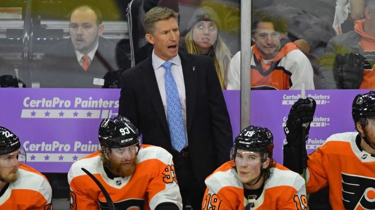 NHL: Ottawa Senators at Philadelphia Flyers