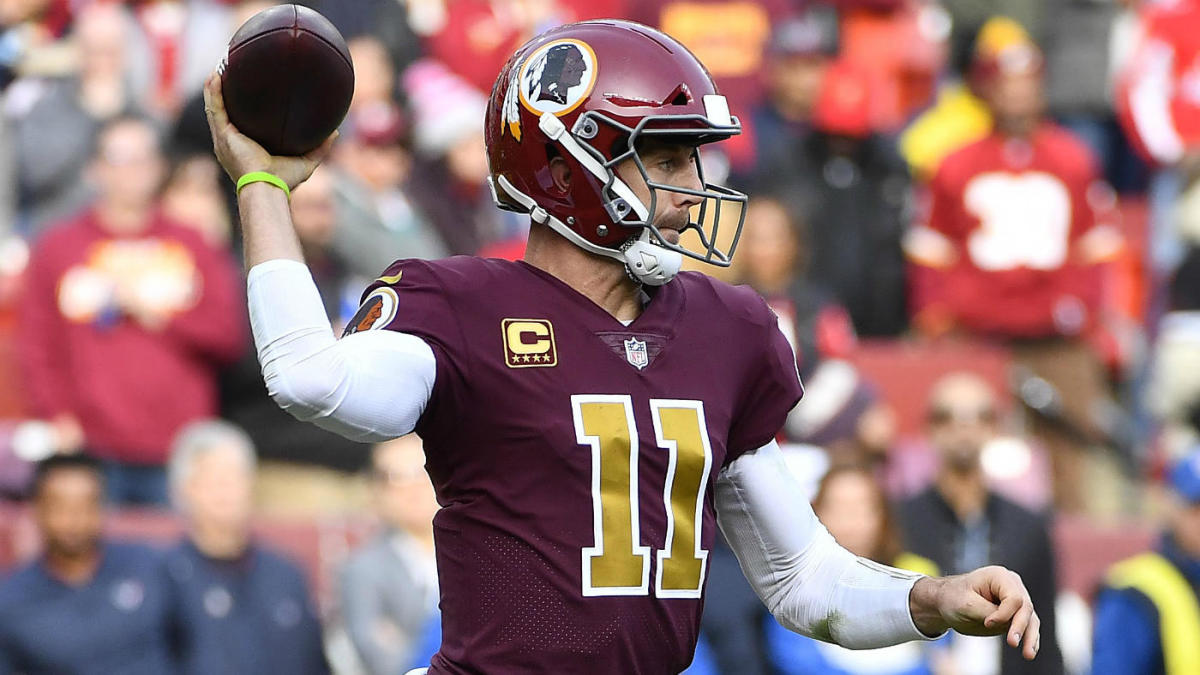 low priced ac23b 0b79b Alex Smith injury update: Redskins quarterback returns home ...