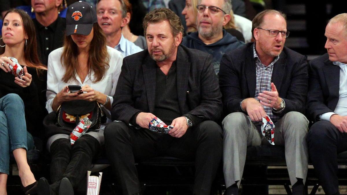 Knicks owner James Dolan tests positive for coronavirus; in self ...