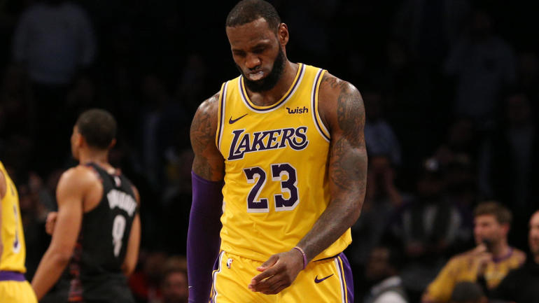 cd3e2234f63 LeBron James injury update  Lakers preparing for their star to miss  several  games  with groin strain