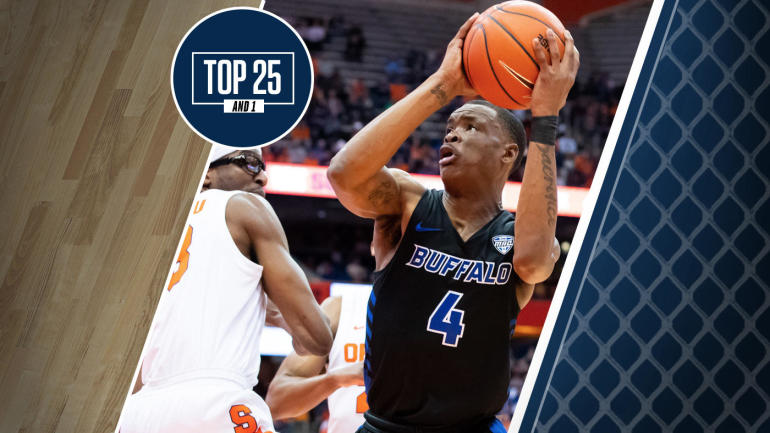 College Basketball Rankings Buffalo No 19 In The Top 25 And 1