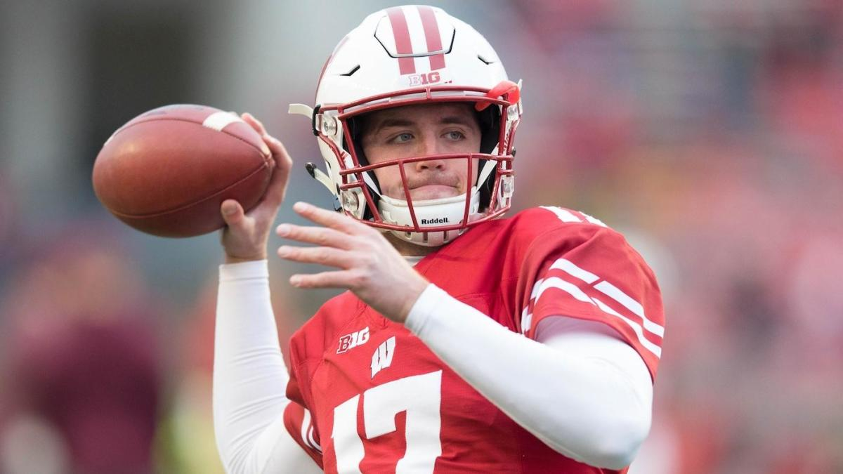 Report Wisconsin Qb Alex Hornibrook To Miss Pinstripe Bowl