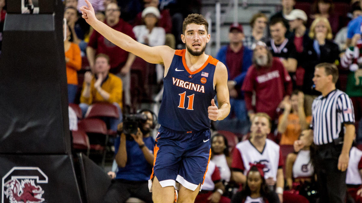College Basketball Rankings Virginia Edges Out Duke For No