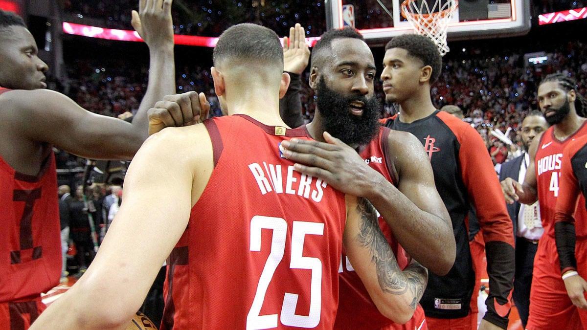 dbc459c1 Thunder vs. Rockets score: Takeaways as James Harden leads Houston to  comeback win over OKC on NBA Christmas Day - CBSSports.com