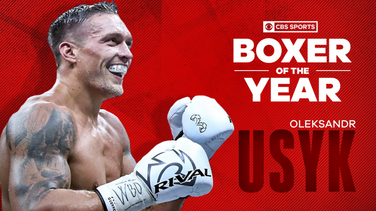 2018 cbs sports boxer of the year oleksandr usyk earns the honor as