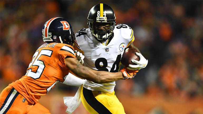 10af6905e51 Fantasy Football Week 17 Injury Report  Antonio Brown heads into Sunday as  biggest question mark - CBSSports.com