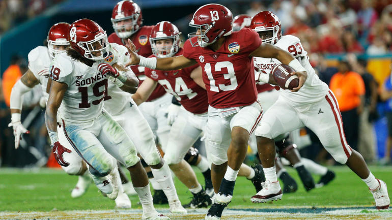Orange Bowl 2018  Alabama s  lights-out  offense bailed out its  historically great defense - CBSSports.com 1f2a5f261