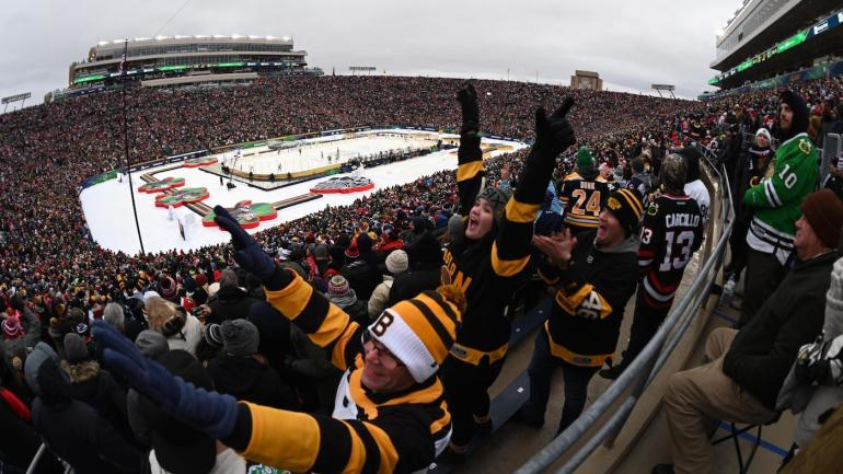 2019 Nhl Winter Classic Notre Dame Stadium Apparently Ran
