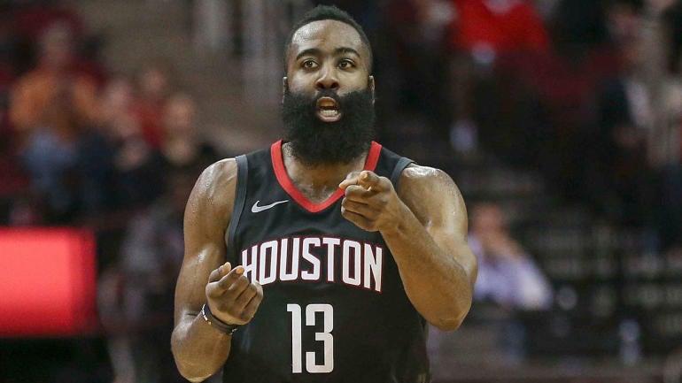 e399fb348 NBA MVP odds  Rockets  James Harden passes Giannis Antetokounmpo as  favorite for award - CBSSports.com