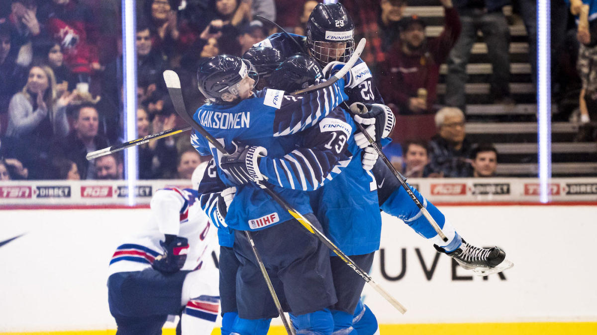 World Junior Championship 2019 Team Usa Falls To Finland In Gold