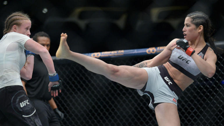 UFC fighter Polyana Viana thwarts would-be mugger from ...