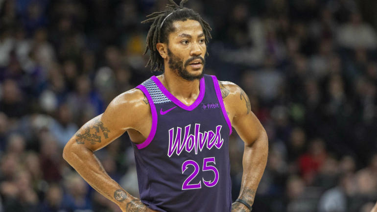 d39138a2c4ef Timberwolves  Derrick Rose tells anyone who doubts him to  kill yourself    quickly apologizes for harsh message - CBSSports.com