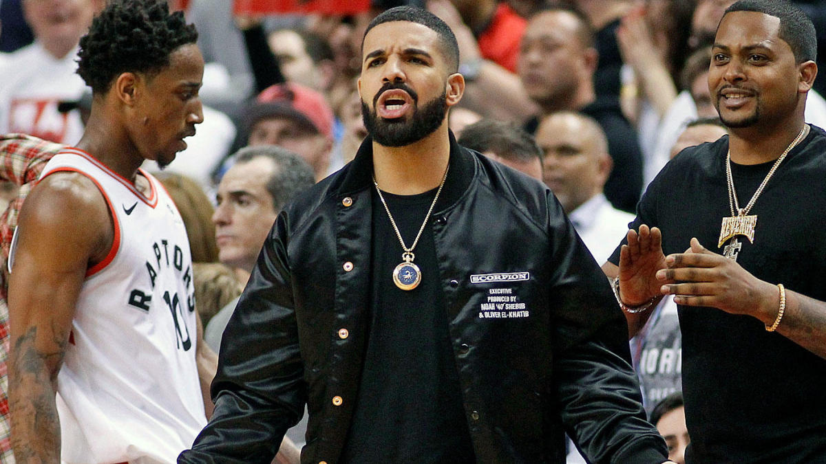 c4fa0555 Analyzing the Drake Curse as Raptors win playoff series but Maple Leafs  lose Game 7 to Bruins - CBSSports.com
