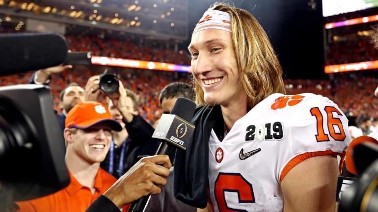 Trevor Lawrence's girlfriend predicted the Clemson QB's national title two years before it ...