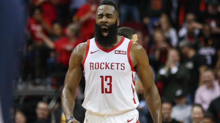 d6890b5a4723 Rockets  James Harden becomes second player in NBA history to score 30  points in 20 straight games - CBSSports.com