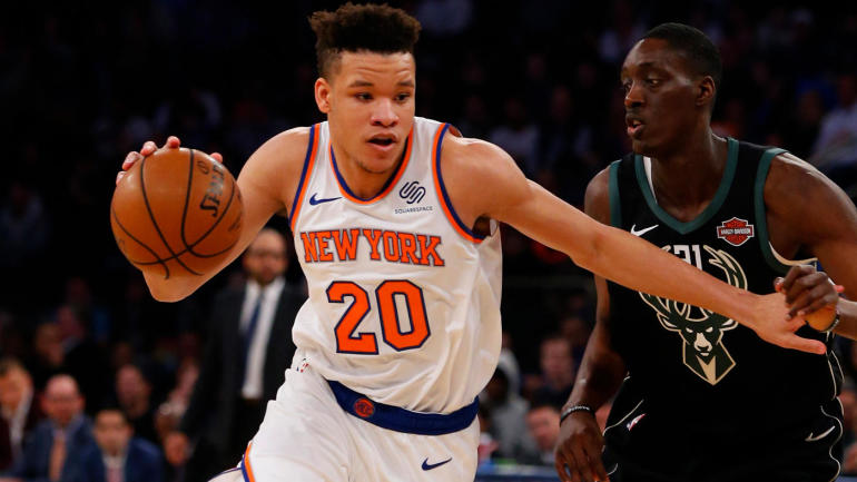 b2ec3a2a680 Knicks  Kevin Knox already experiencing blessing and curse of playing in  New York