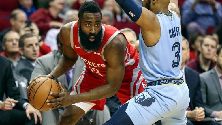 91b32c1fedd Rockets  James Harden scores 57 points vs. Grizzlies