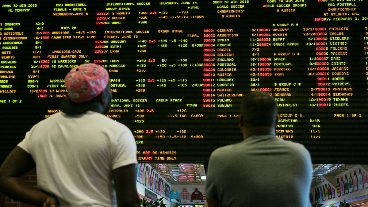 online sports betting impact on sports books
