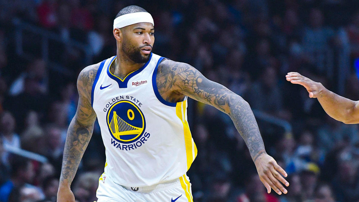 low priced 13852 9b00e DeMarcus Cousins' Warriors debut: The best moments of ...