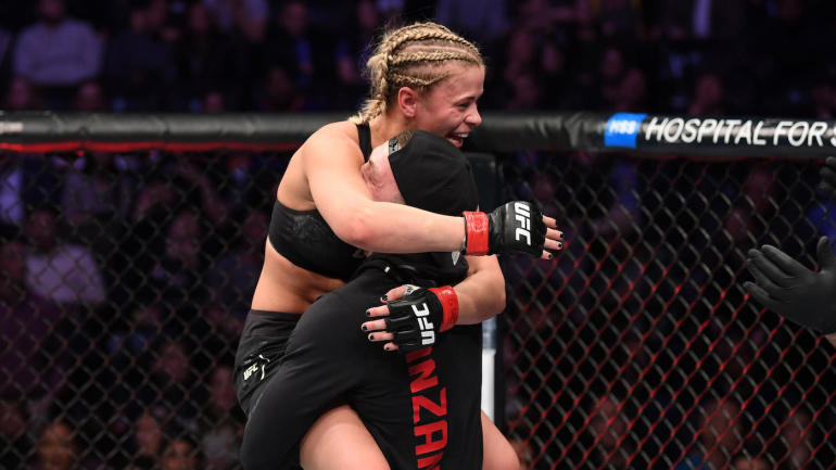 UFC Fight Night 143 results: Paige VanZant submits Rachael