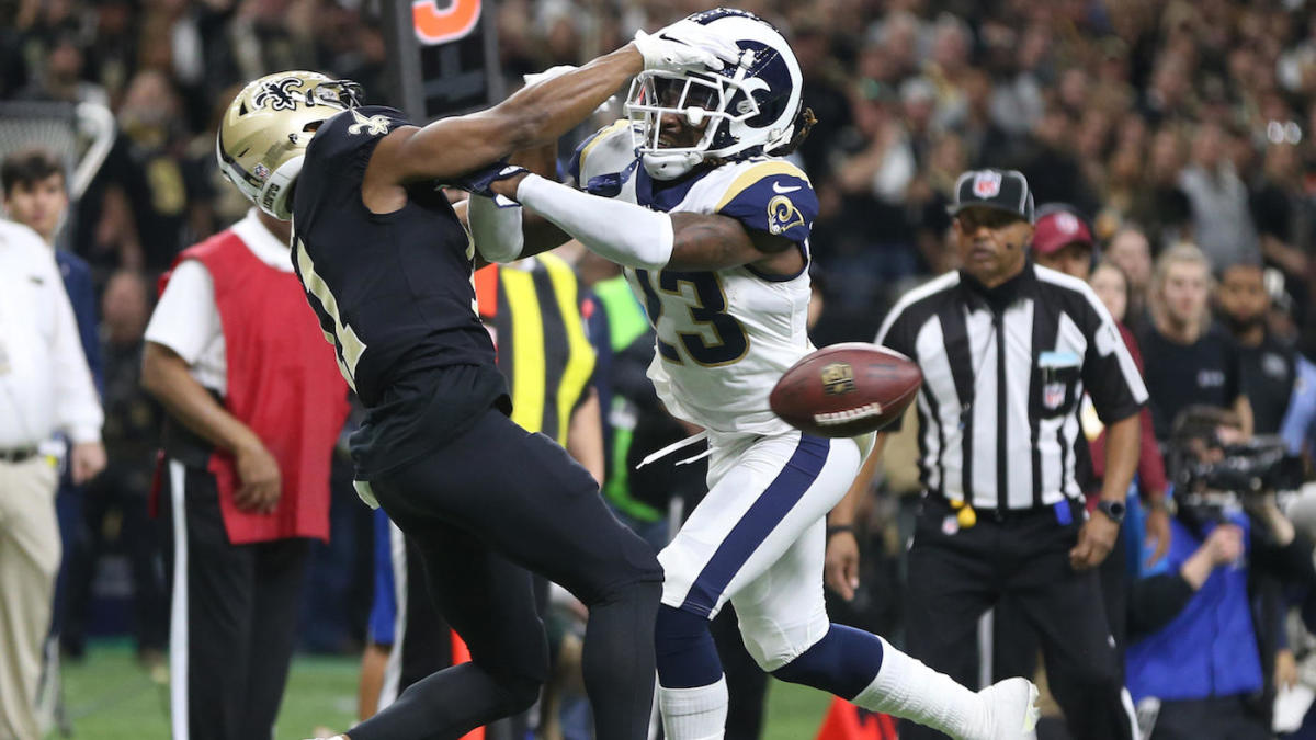Roger-goodell-nfl-rulebooks-saints-rams-pass-interference