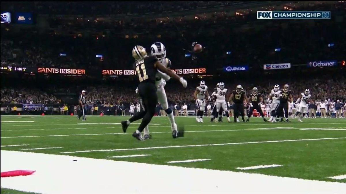New Orleans newspaper sums up Saints controversial loss to Rams with perfect headline