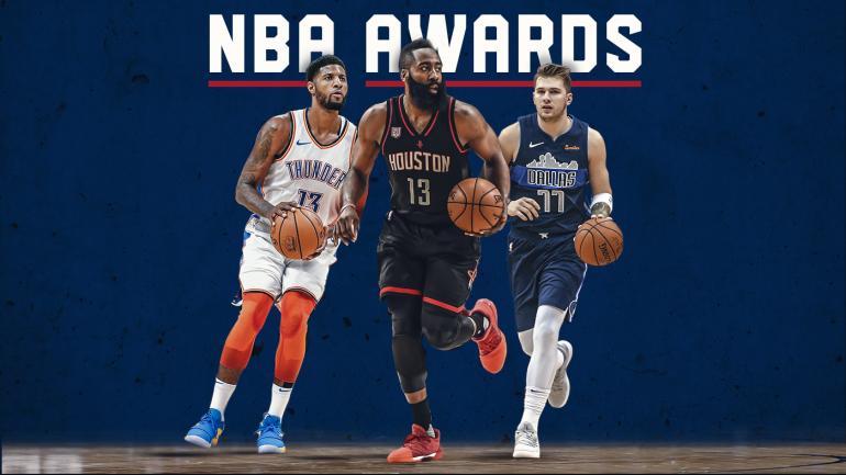 2018-19 NBA Midseason Awards: James Harden runs away with MVP; Luka Doncic unanimous Rookie of ...