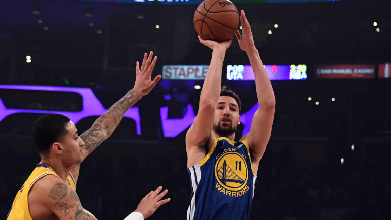 the best attitude 08df7 b2057 NBA Star Power Index  DeMarcus Cousins, Klay Thompson have Warriors  humming  Kyrie Irving in giving mood - CBSSports.com