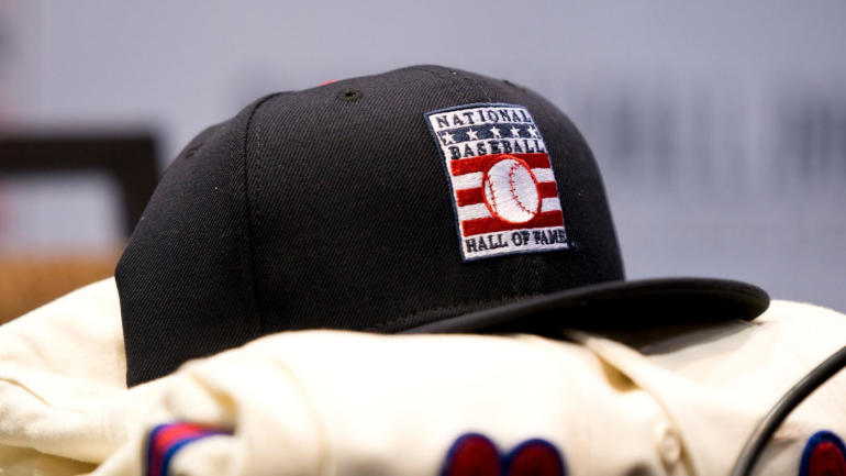 869465889 MLB Hall of Fame  Roy Halladay will have blank hat on plaque  Mike Mussina  undecided between Yankees and Orioles - CBSSports.com