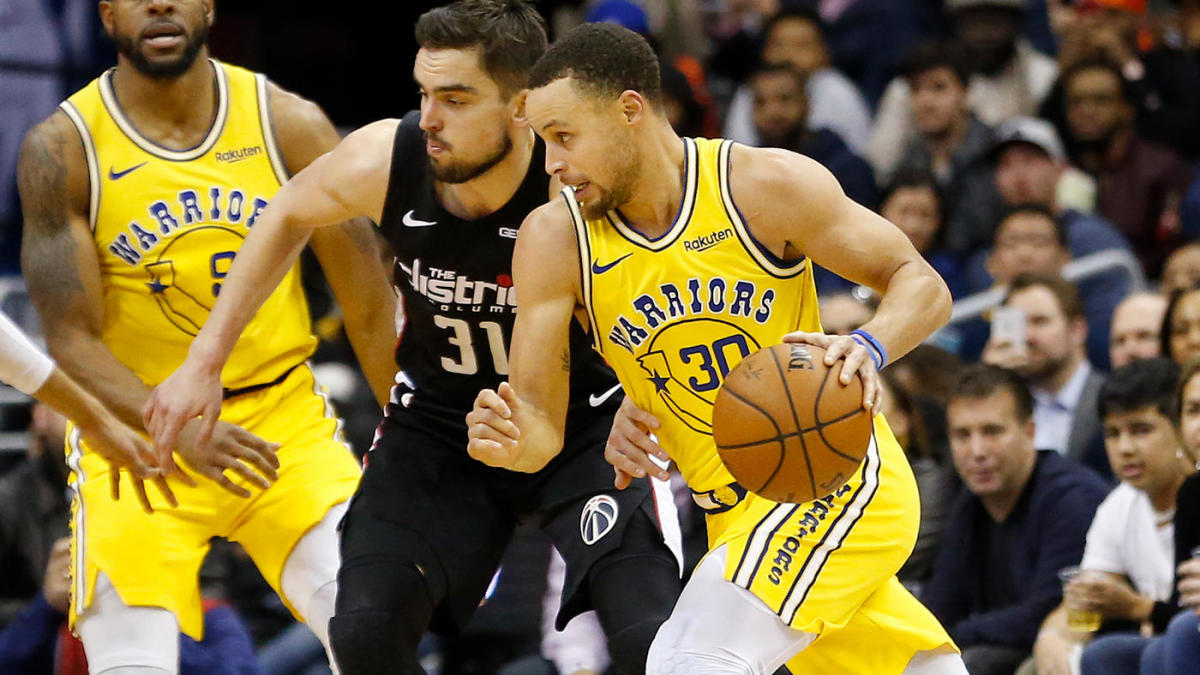 Nba Scores Highlights Steph Curry Warriors Stay Hot With Win Over Wizards Wolves Handle Lakers In Rondo S Return Cbssports Com