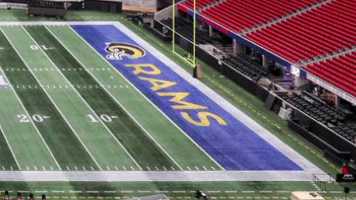 2019 Super Bowl Here S What The Rams And Patriots End Zones Will