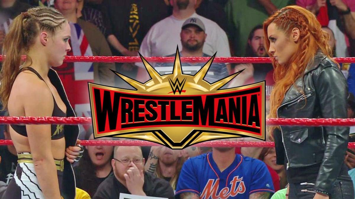 2019 WWE WrestleMania 35 matches, card, start time, date