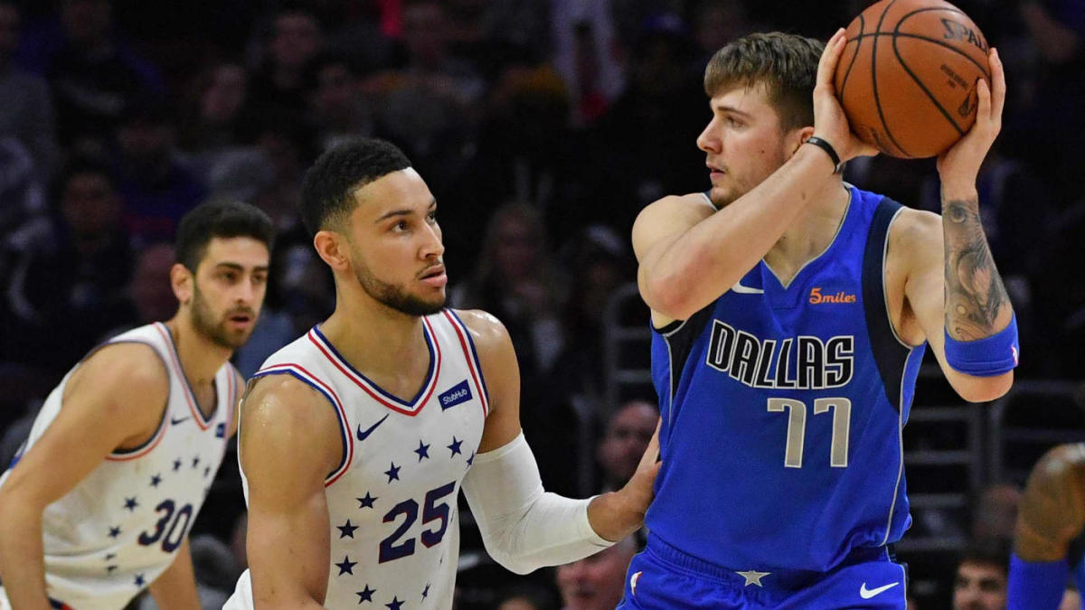 buy popular d32f6 e886c 2019 NBA Rising Stars rosters: Ben Simmons, Luka Doncic ...