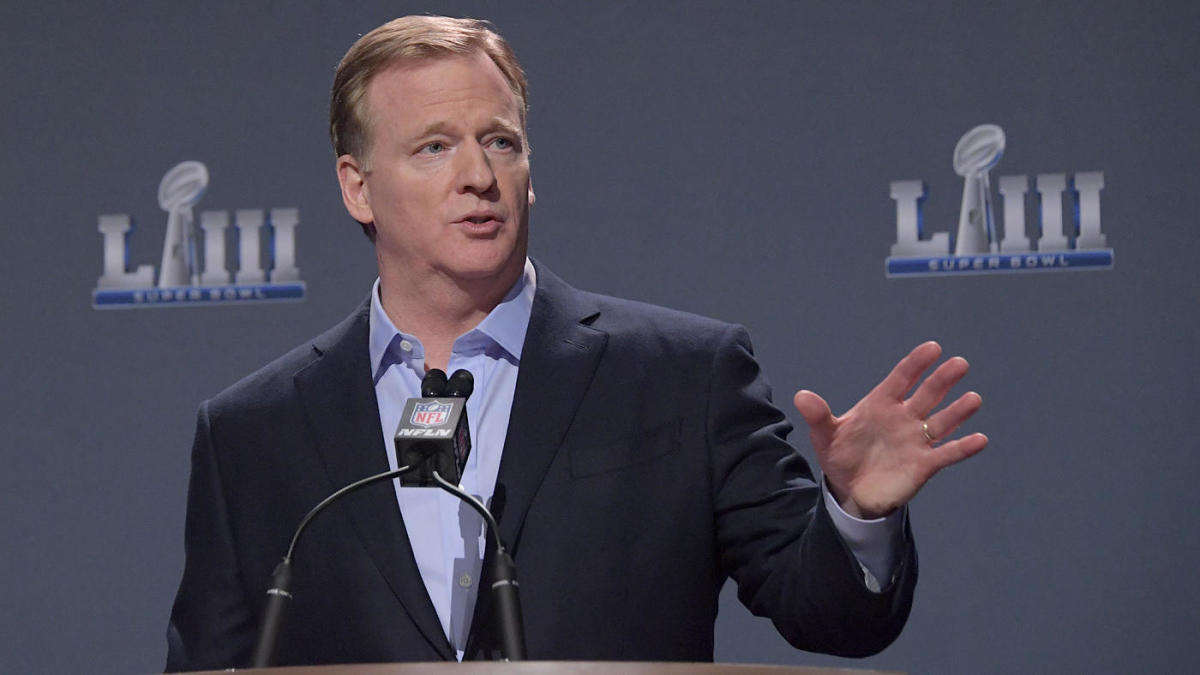 Roger Goodell's exit from commissioner role likely to come after two major pieces of business are complete