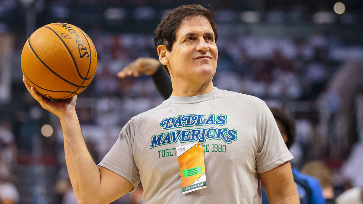 Samson: What Mark Cuban is saying by not wanting to play the national anthem before games - CBS Sports
