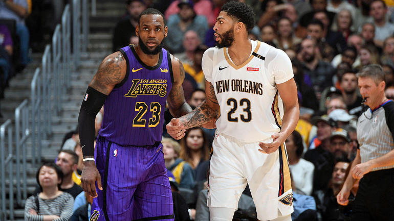 18922ff1415e Lakers vs. Pelicans odds