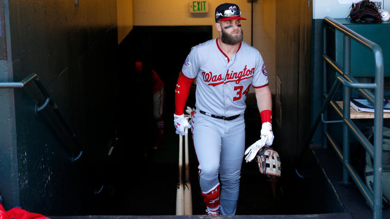 Bryce Harper rumors: Star free agent won't consider short-term deals, report says