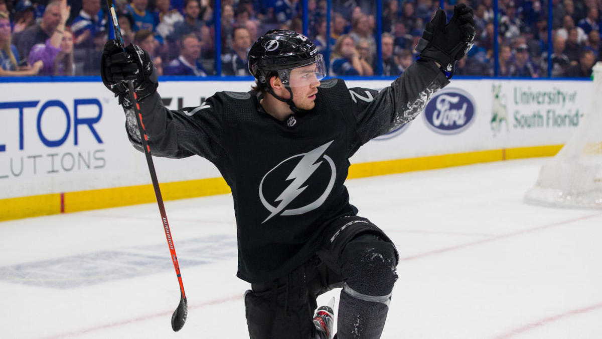 timeless design f3350 8fb61 Brayden Point re-signs with Lightning on three-year deal ...