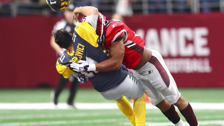 Aaf 2019 New Football League Averages Nearly 3 Million Views On