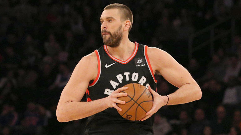 marc gasol already energizing raptors u0026 39  offense  even if