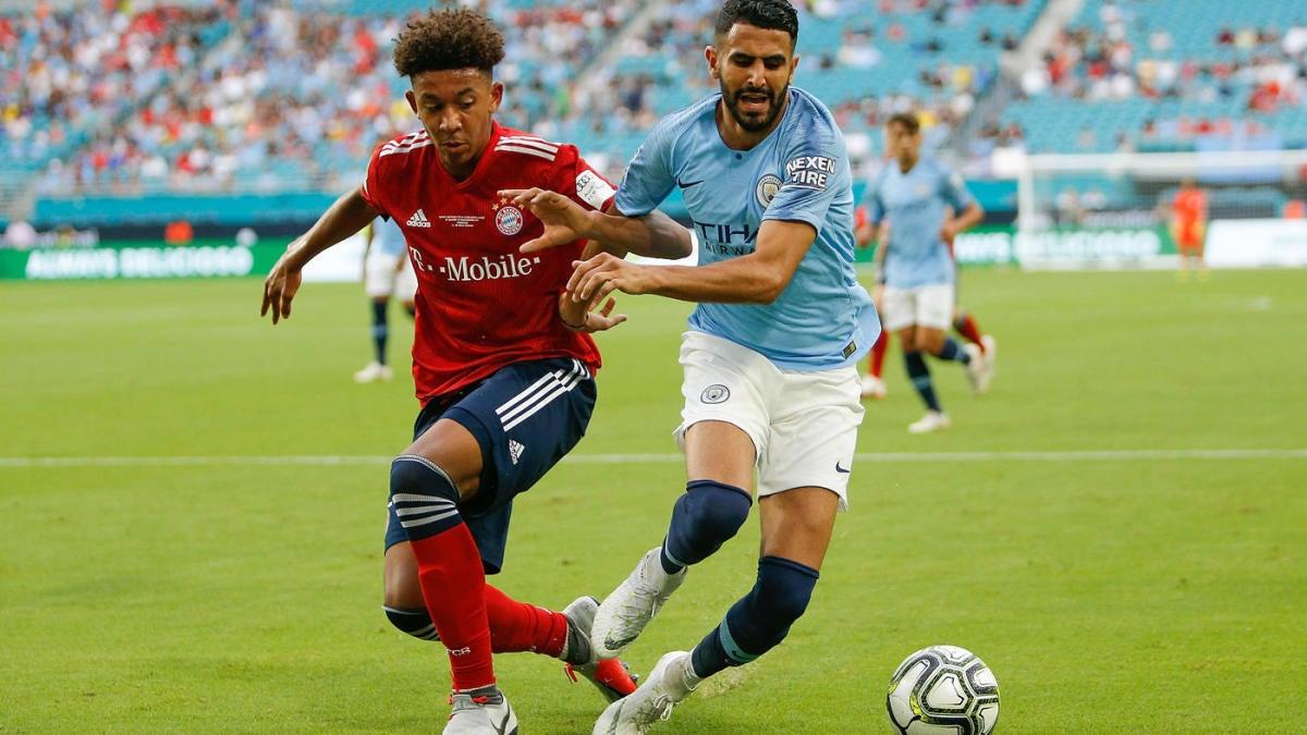 Bayern Munich's rising prospect Chris Richards is setting