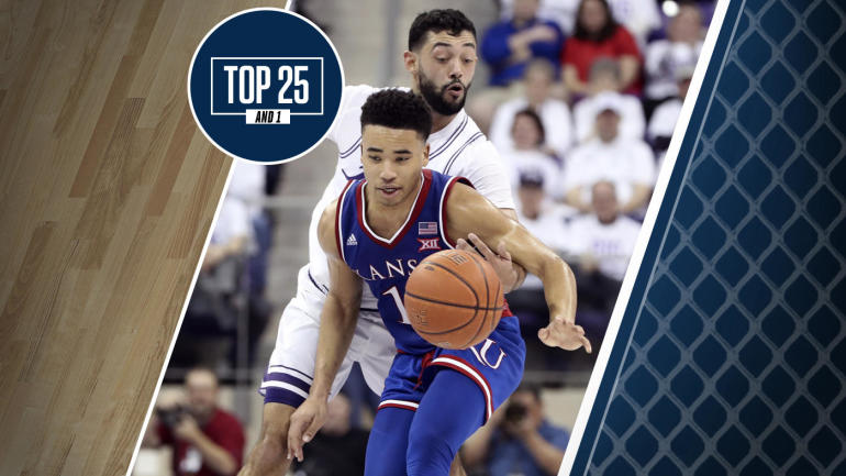 College Basketball Rankings: Kansas wins at TCU, remains No. 13 and is the top Big 12 team in the Top ...