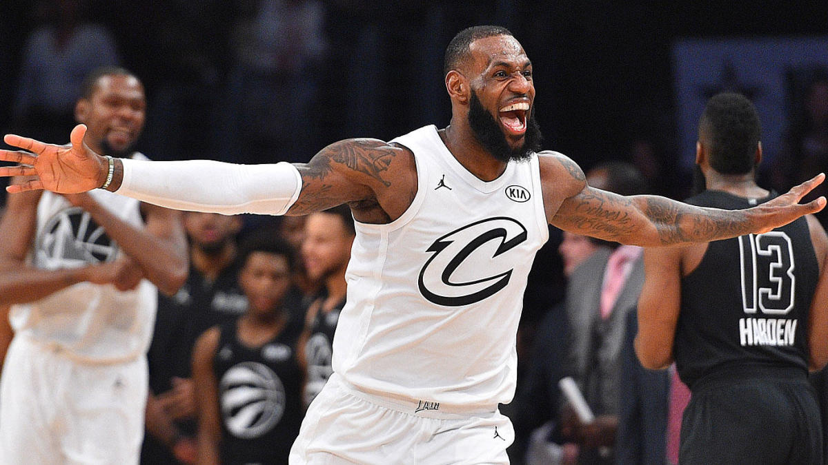 8e88dcae21d NBA All-Star Weekend: Team LeBron's crazy comeback, Shaq-Kobe reunion among  most memorable All-Star Game moments - CBSSports.com