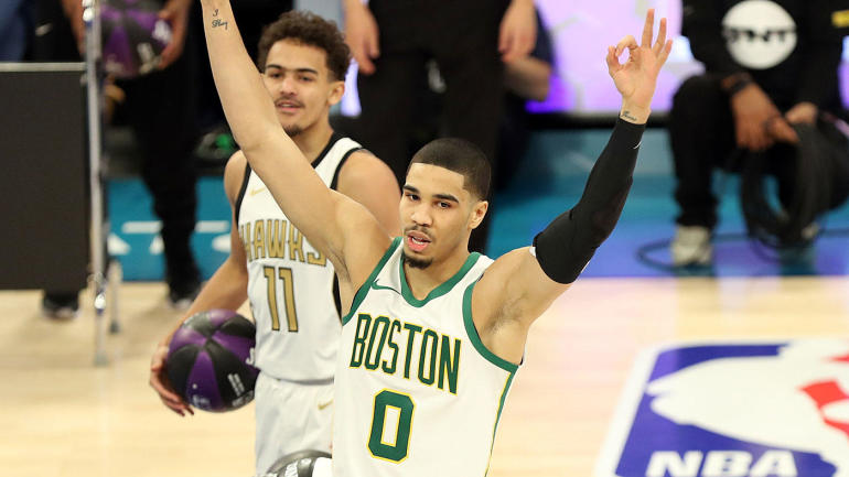 NBA All-Star Weekend 2019: Jayson Tatum edges Trae Young to win Skills Challenge in thrilling fashion - CBS Sports thumbnail