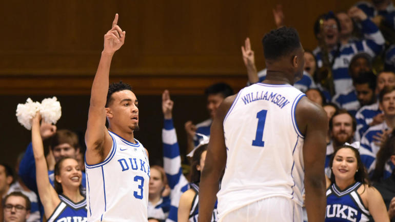 College basketball rankings: Duke replaces Tennessee as the No. 1 team in the AP Top 25 Poll - CBSSports.com ...