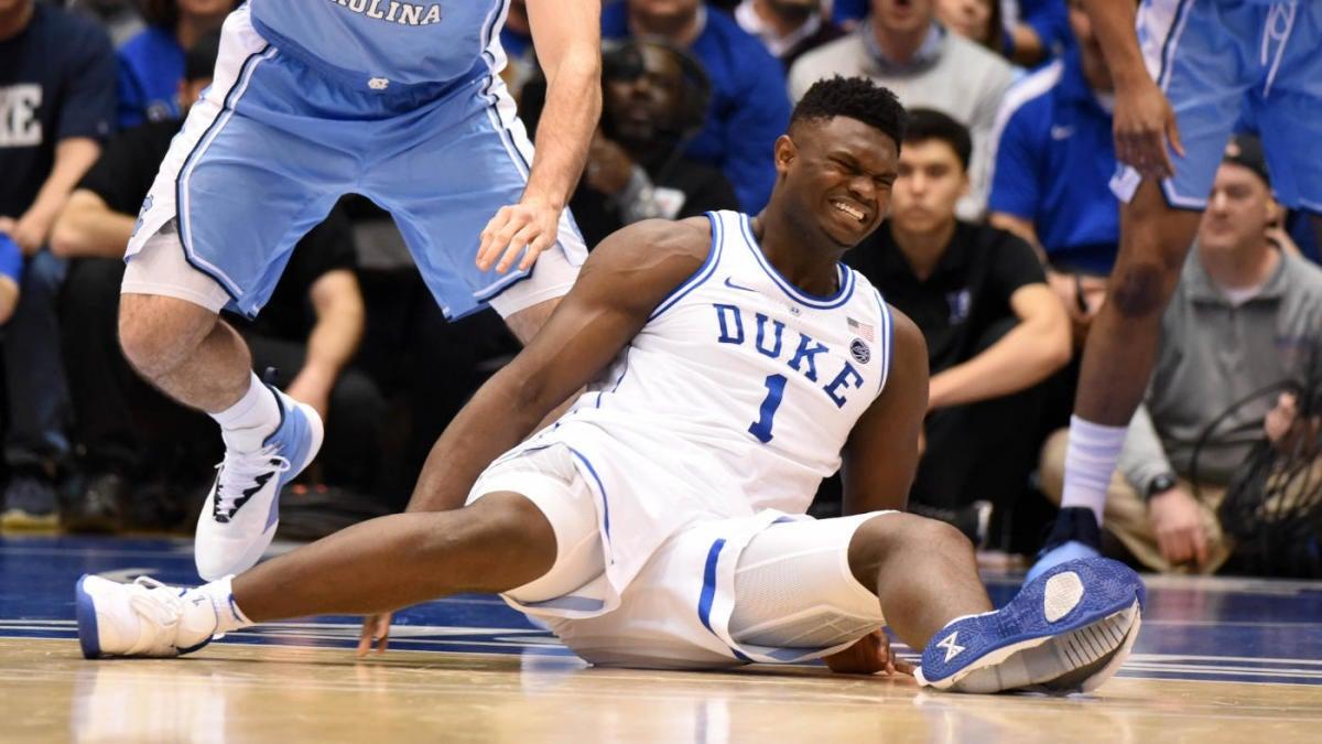 Duke star was wearing when he injured