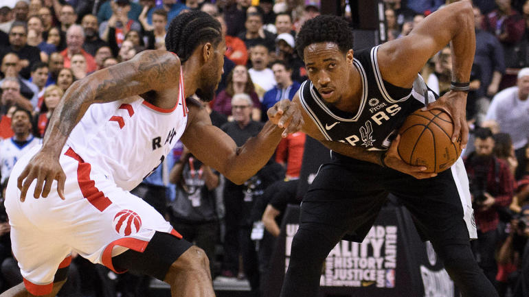 becb5e2b3bae Raptors  DeMar DeRozan s disastrous final moments spoil otherwise warm  homecoming in Toronto