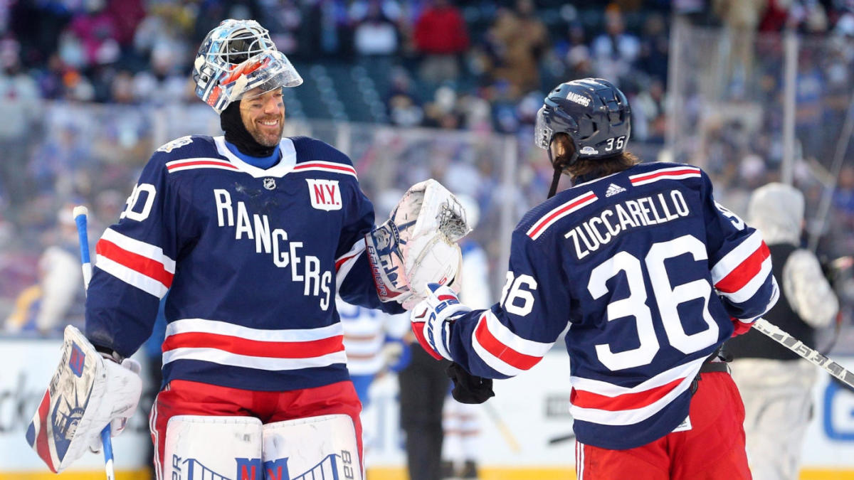 Rangers Goalie Henrik Lundqvist Gets Choked Up While Talking About